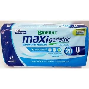 Absorvente Biofral Max Geriatric Com 20 Unidade