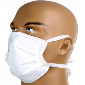 Mascara descartavel com 50 unidades